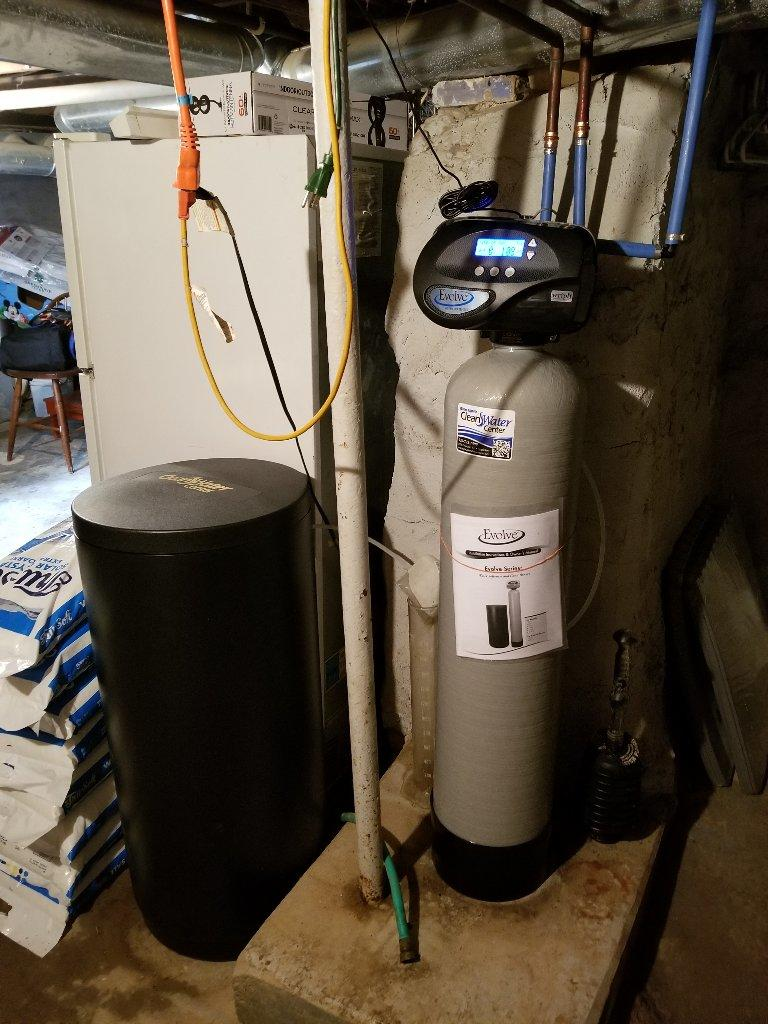 NEW WATER SOFTENER in Hilbert, WI - After Photo