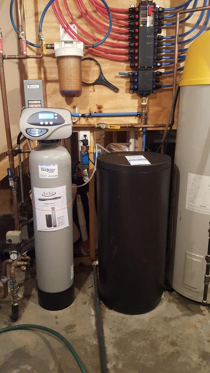NEW WATER SOFTENER in Berlin, WI - After Photo