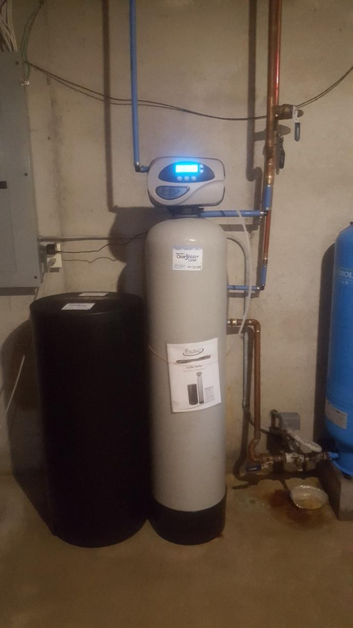 New Water Softener in Maribel, WI - After Photo