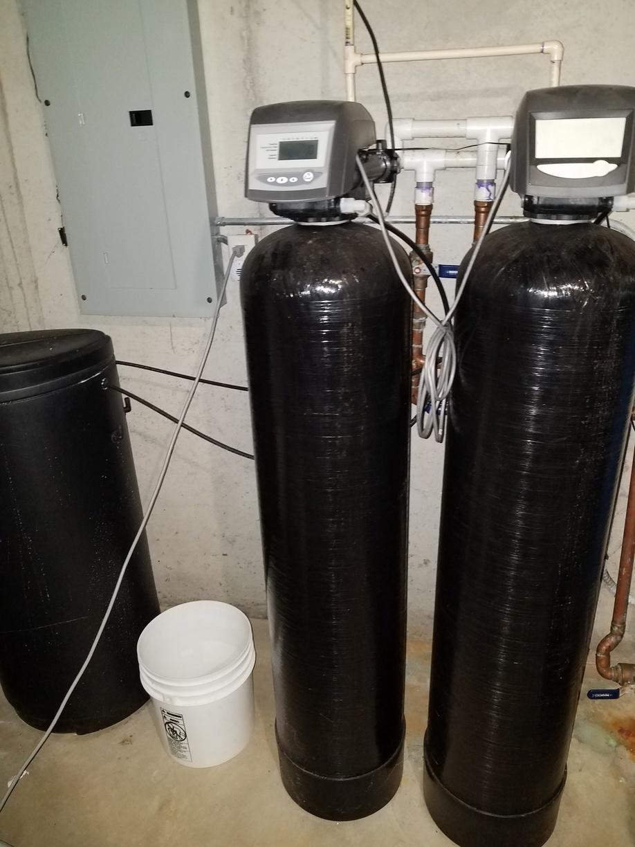 New Water Softener in Maribel, WI - Before Photo