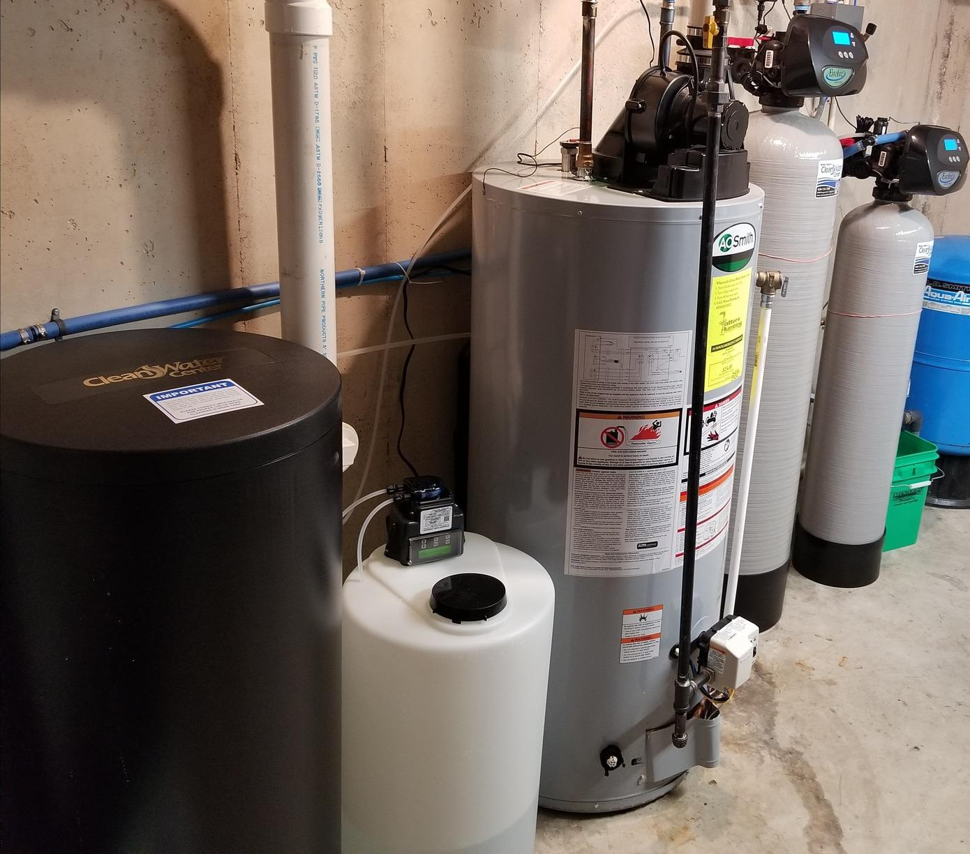 Bad Odor to Water - Hilbert, WI - After Photo