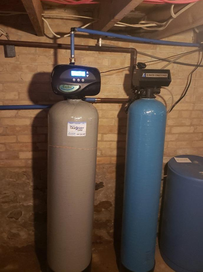 New Sulfur Filter in Brillion, WI - After Photo