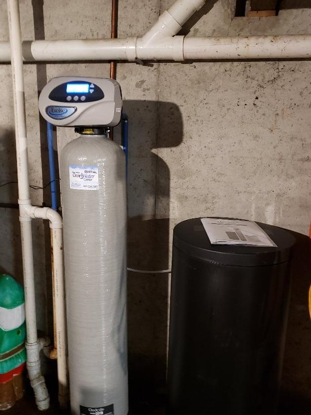 Old Water Softener Not Working Anymore- New Franken,WI - After Photo