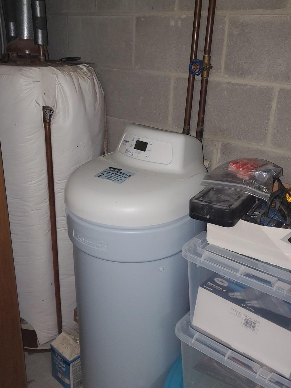 New Water Softener- Sheboygan, WI - Before Photo