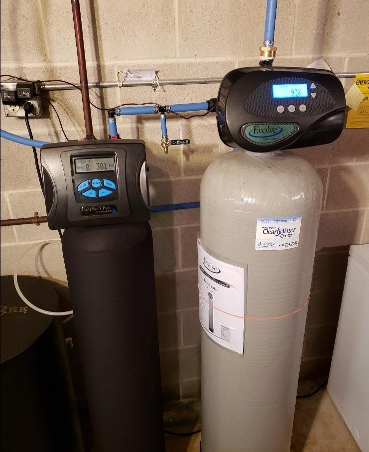 Solution to Sulfur Problems in Water- Manitowoc, WI - After Photo