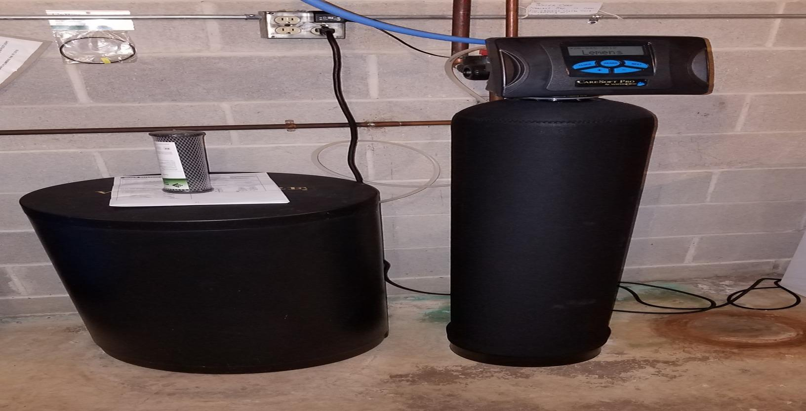 Solution to Sulfur Problems in Water- Manitowoc, WI - Before Photo