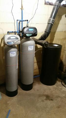Water Softener & Iron Filter Install in Wrightstown, WI