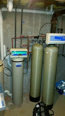 Combo Softener & Iron Filter Install - Neenah, WI