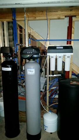 Neenah - WI - Iron & Sulfur Issues - Backwash Filter Install EVAIR-1054