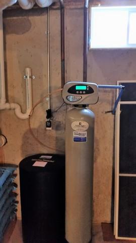 New Water Softener & Iron Filter - Chilton, WI