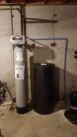 NEW WATER SOFTENER - After Photo