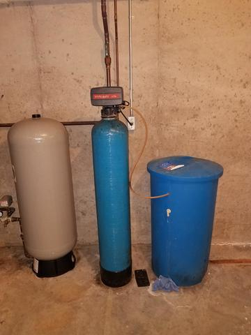 NEW IRON FILTER AND WATER SOFTENER - NEENAH, WI