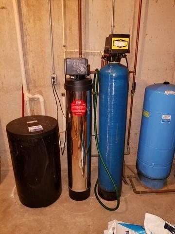 New Water Softener installed in Oshkosh, WI