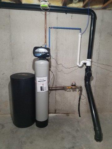 New Water Softener and Reverse Osmosis Installed in Appleton, WI