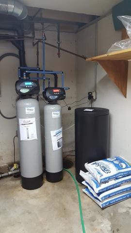 NEW IRON FILTER AND WATER SOFTENER IN DE PERE, WI