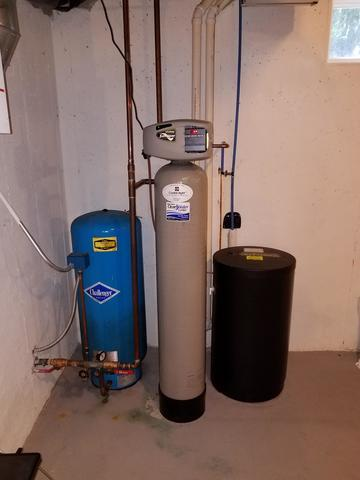 WATER SOFTENER AND FILTER INSTALL