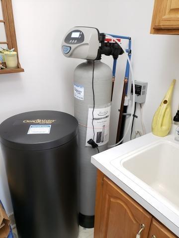 Water softener install- New London
