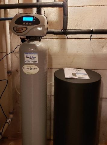 New Water Conditioner Install- De Pere, WI