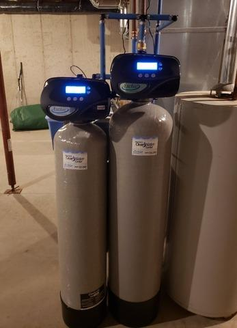 New Water Softener, Iron Filter, & Reverse Osmosis in Fremont, WI