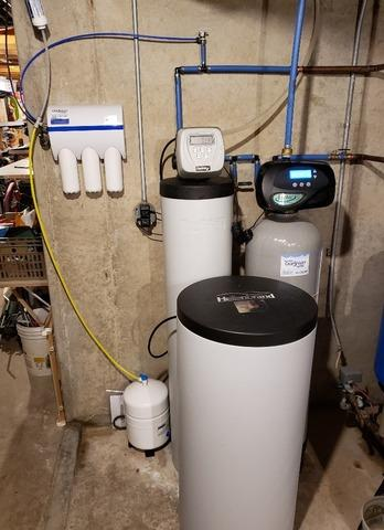 New Iron Filter and Reverse Osmosis in Hortonville, WI