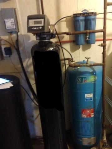 Softener Not Working - New London, WI - Before Photo