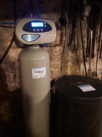 New Water Softener Install in Kaukauna, WI