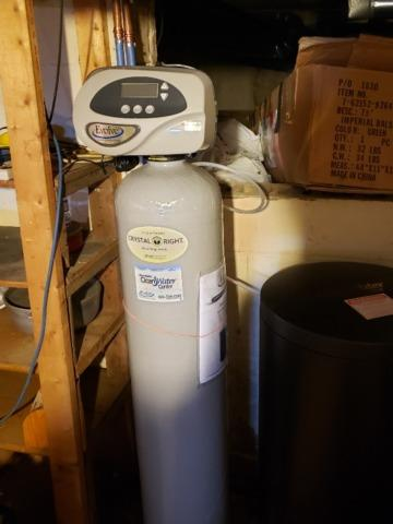 Upgrading An Old Water Softener- Black Creek, WI