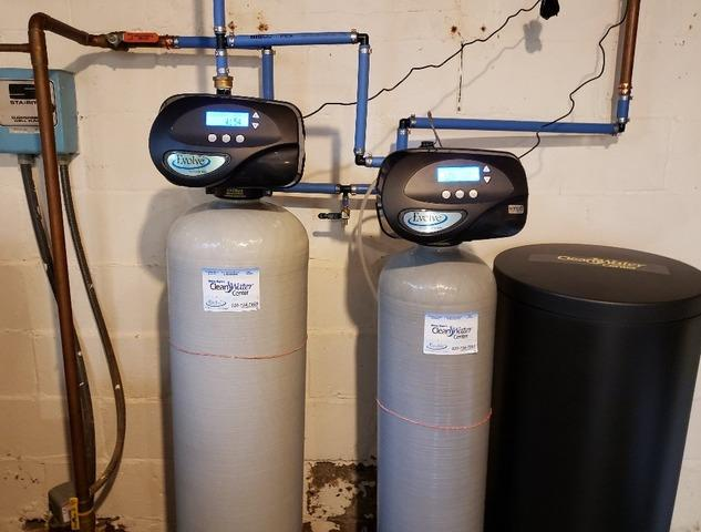 New Iron Filter and Water Softener Installation- Ripon, WI