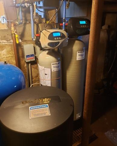 New Water Softener and Iron Filter - Reedsville, WI