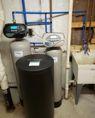 New Water Softener and Iron Filter Install in Mequon, WI