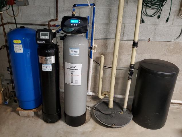 Whole House Iron/Odor Filtration- Fond Du Lac, WI