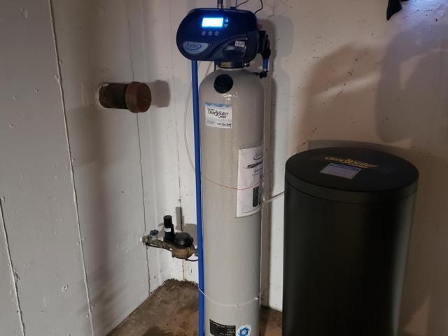 New Water Softener and Reverse Osmosis- Menasha, WI