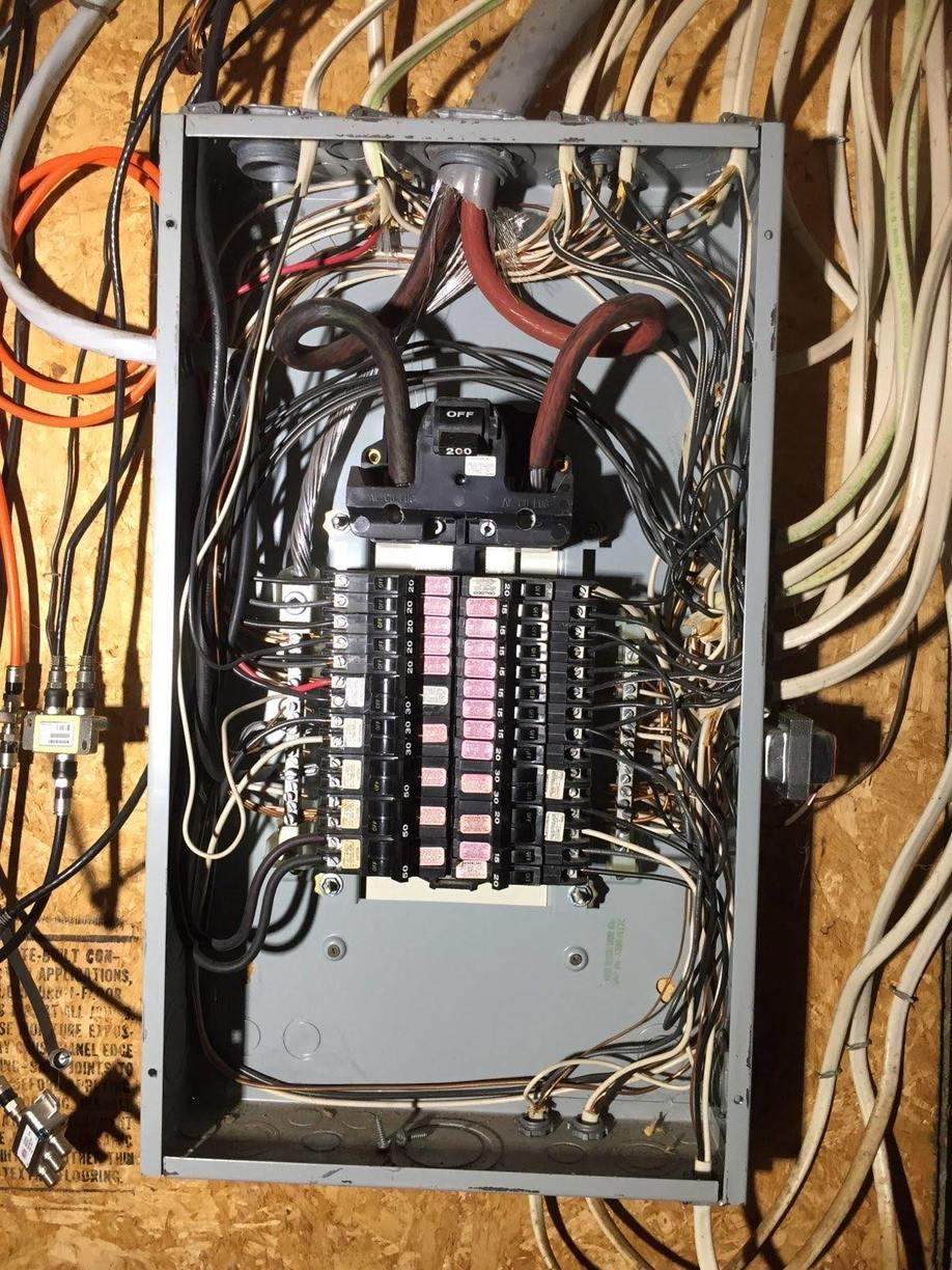 Federal Pacific Panel Box replacement in Clifton Park, NY - Before Photo