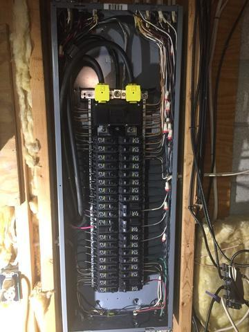 Federal Pacific electrical panel swap in Latham, NY - After Photo