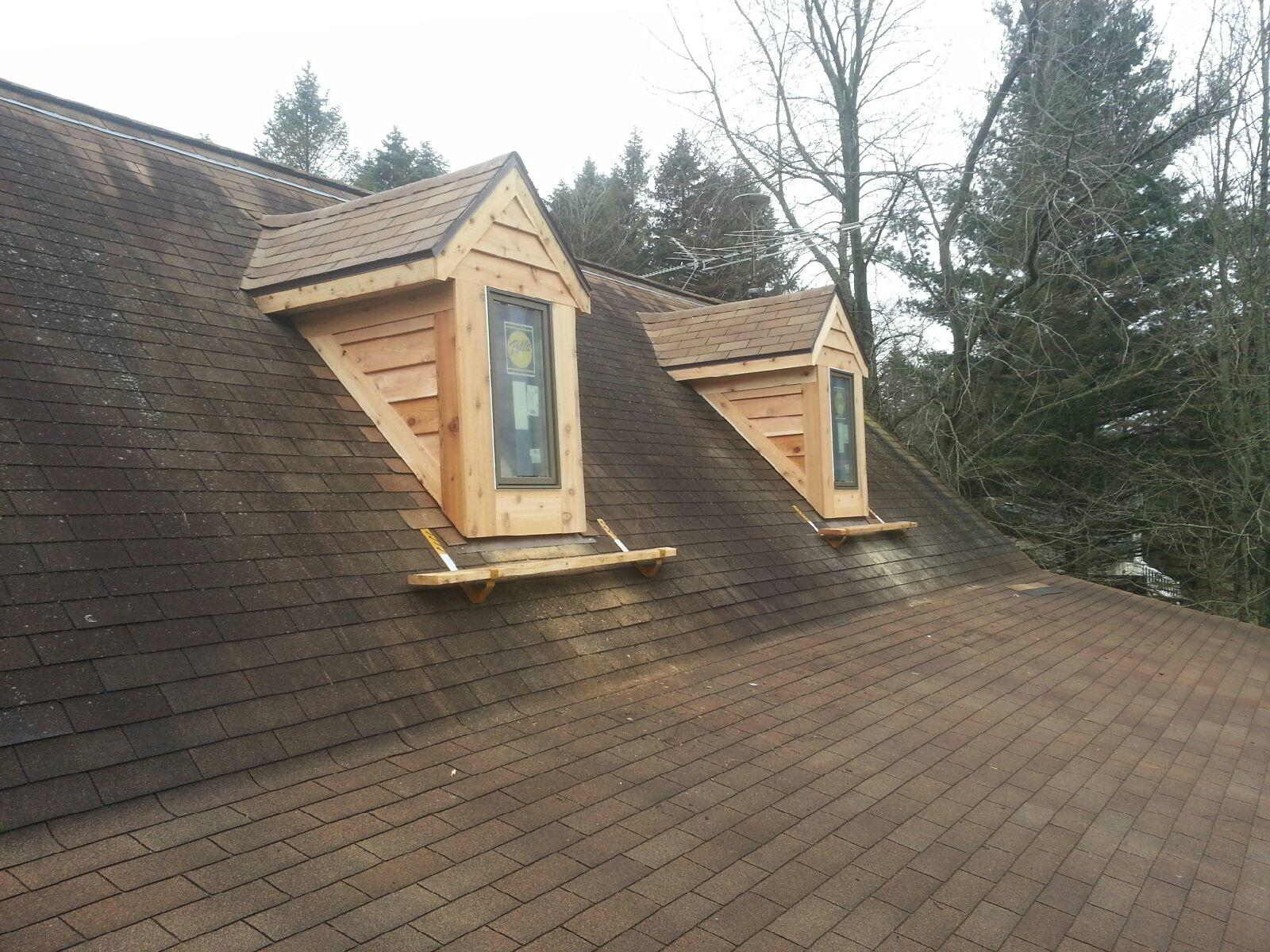 Removing Skylights and adding Windowed Dormers In Sparta, MI - After Photo