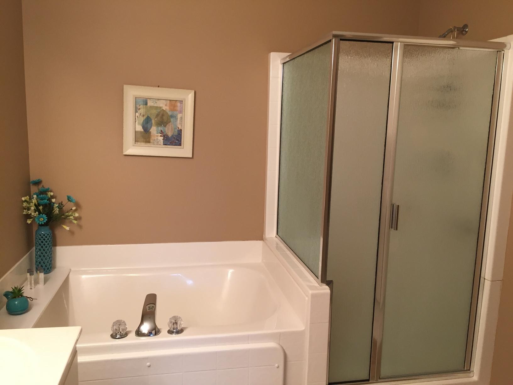 Byron Center Resort Shower - Before Photo