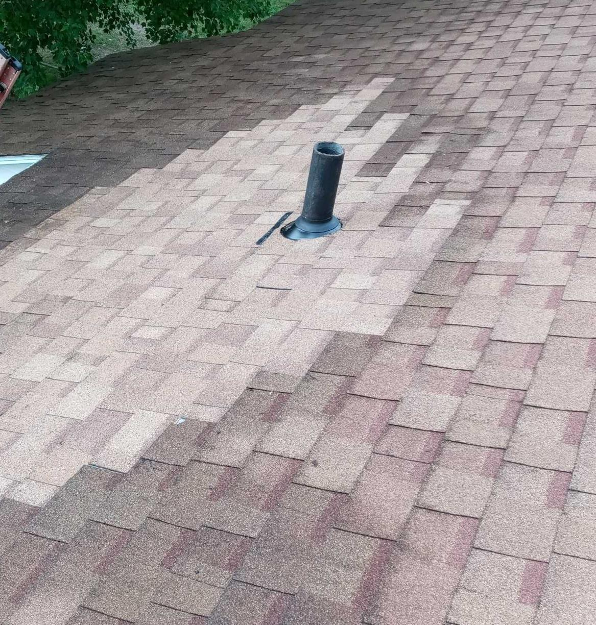 Improperly Installed Vent Pipe Repaired in Battle Creek, MI - After Photo