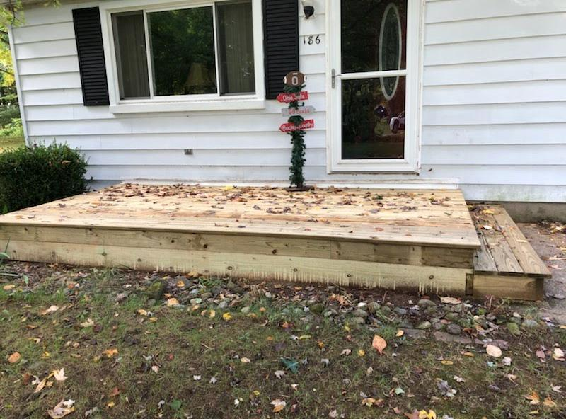 New deck in Plainwell - After Photo