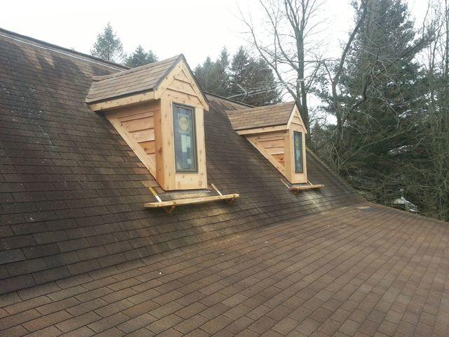 Removing Skylights and adding Windowed Dormers In Sparta, MI