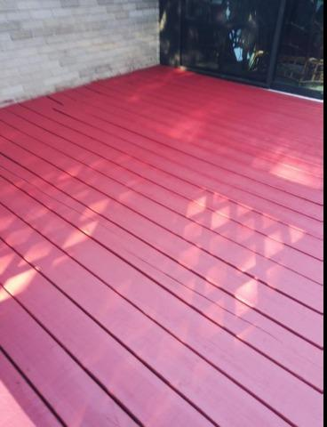 Stained Deck In Grand Rapids