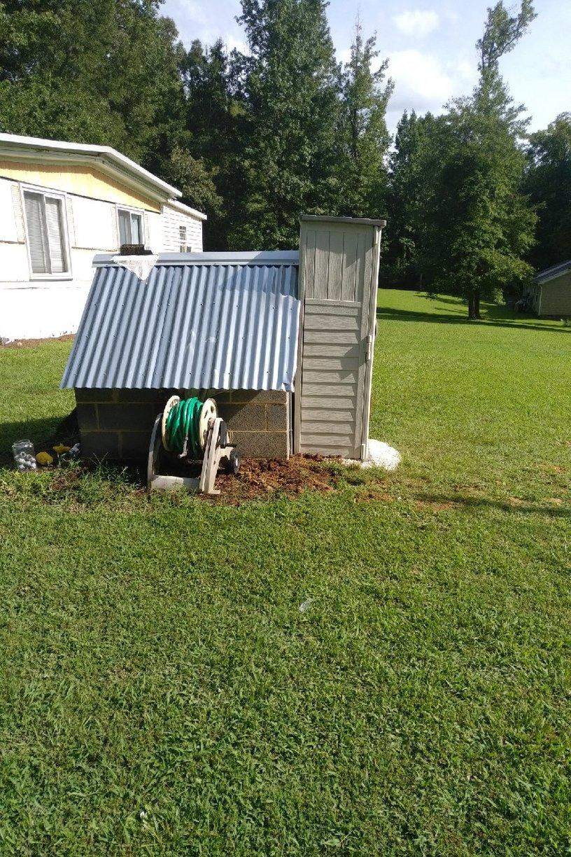 Timberlake, NC Well Water System - Before Photo