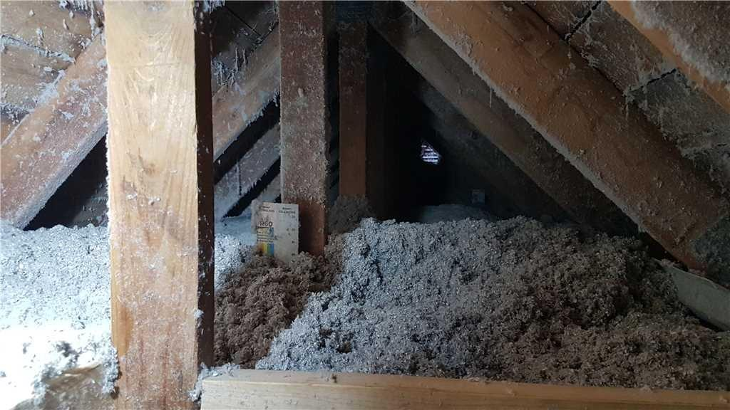 Attic insulation with cellulose in Laval, QC - After Photo