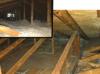 Sceller les fuites d'air dans un grenier à Dollard-des-Ormeaux, Qc