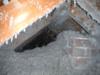 Isolation avec notre cellulose d'un grenier à Lachine, Qc