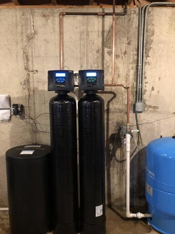 New Filter System and Water Softener in West Chicago, IL