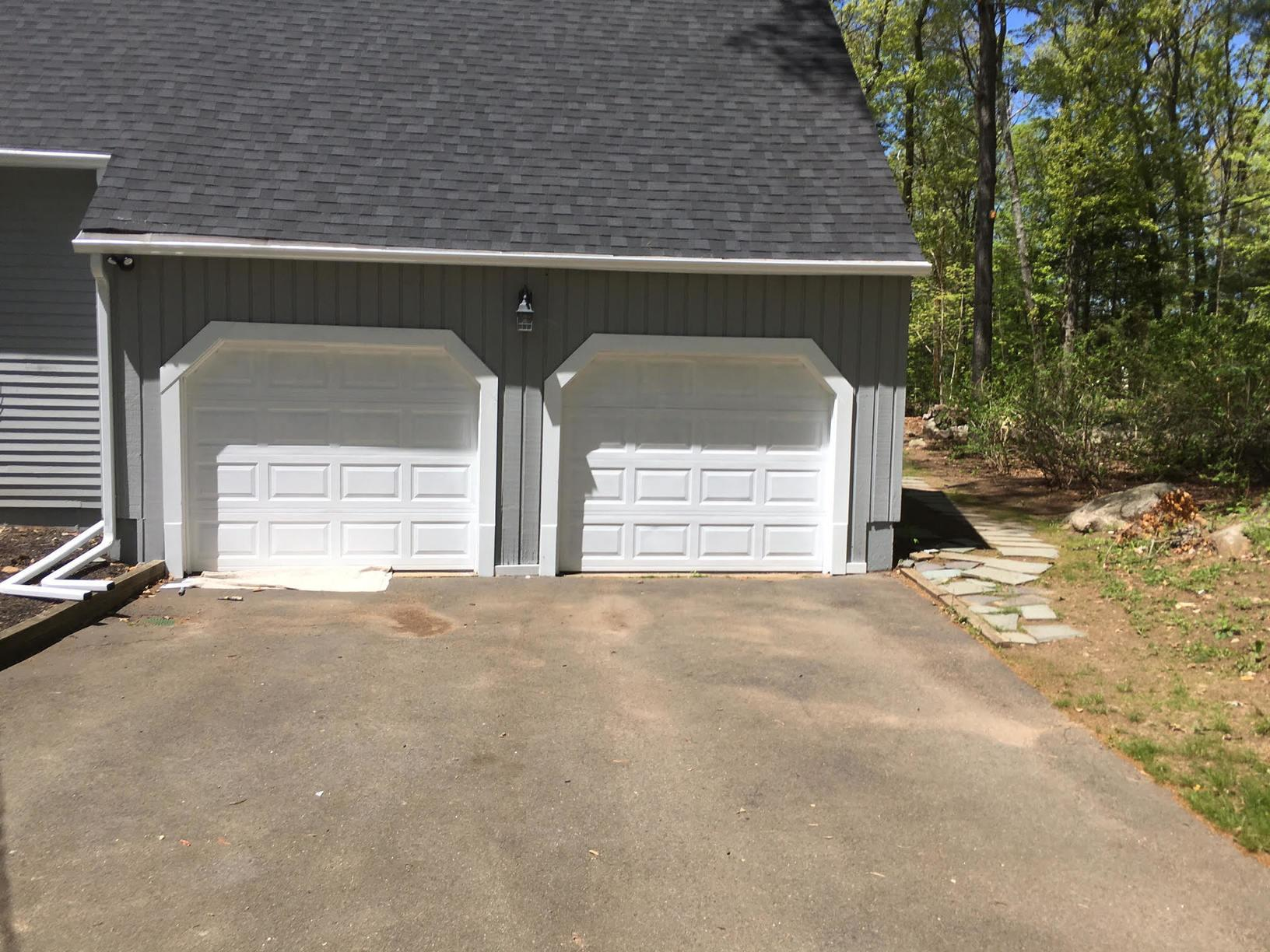 Exterior Garage Painting in Stamford, CT - After Photo