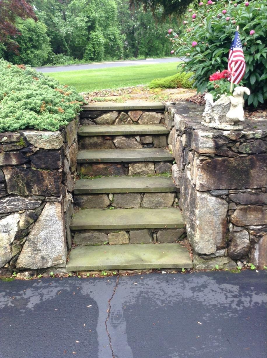 Power Washing in Stevenson, CT - Before Photo