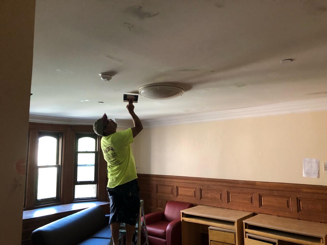 Commercial Interior Painting for Yale Dorms in New Haven, CT - Before Photo