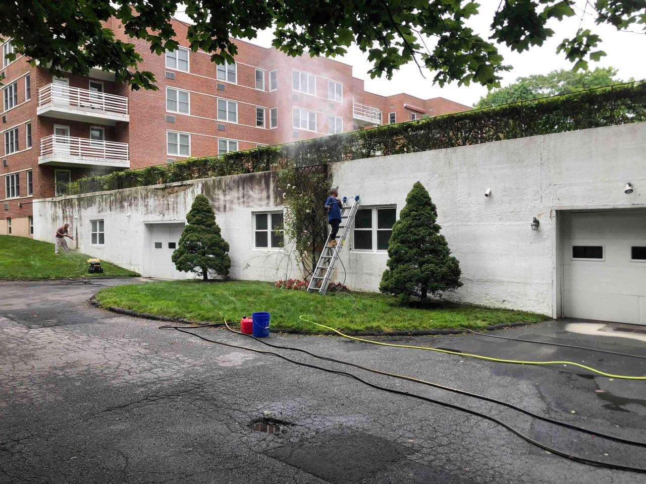 Power Washing Condos in Greenwich, CT - After Photo