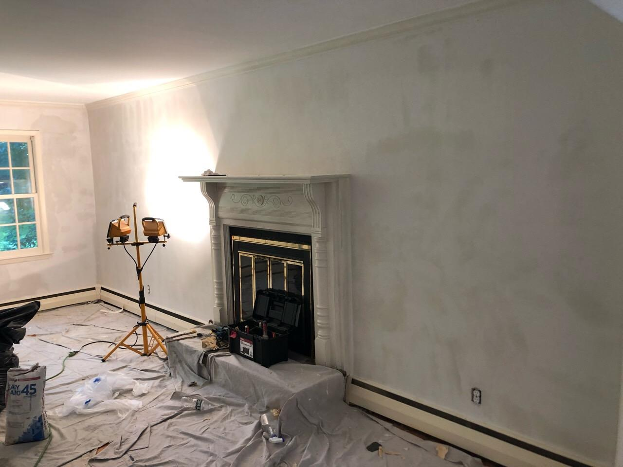 New Canaan Wallpaper Removal - After Photo